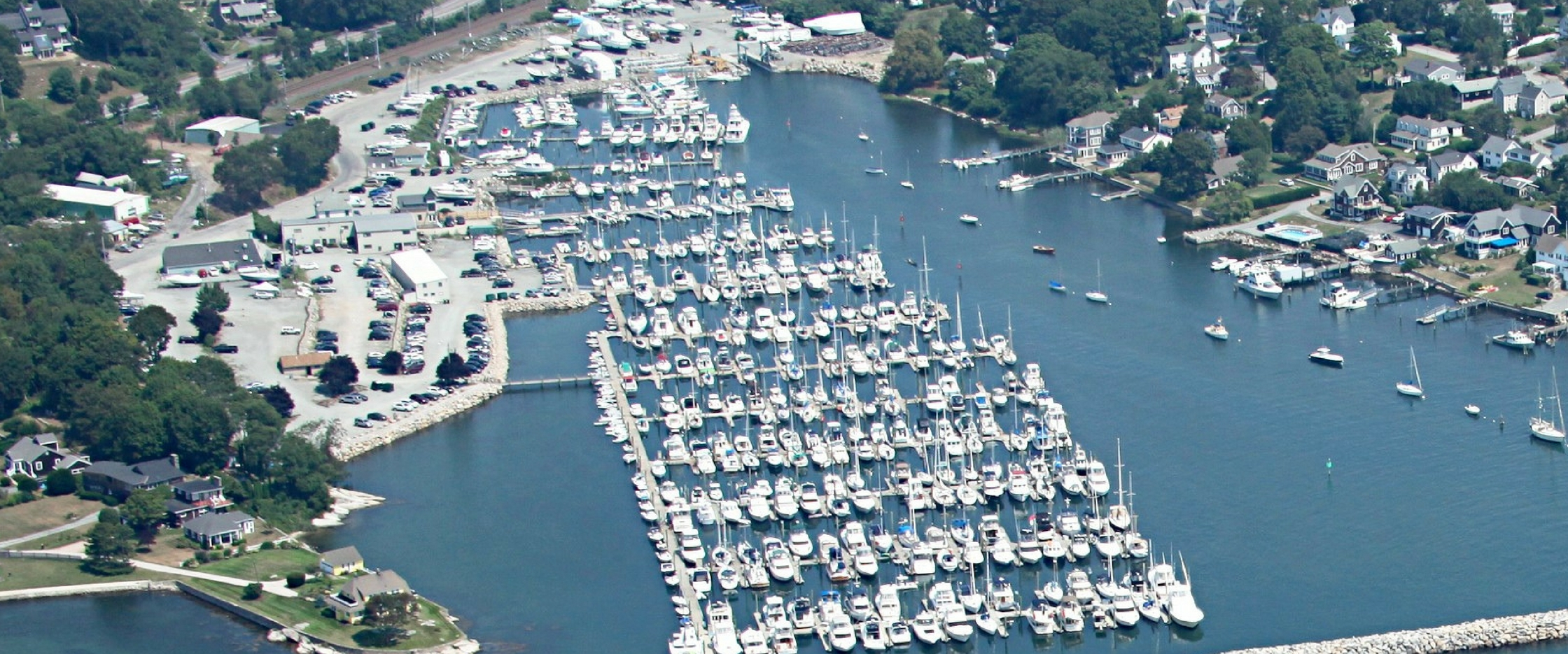 Spicers Brokerage Aerial Picture